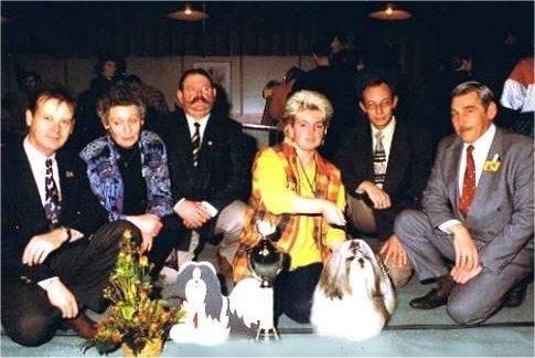 BOB/CLUBWINNAAR '96: Nino v.d. Mamila's, M. Niks-Bakker